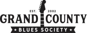 Official Logo of the Grand County Blues Society 501c3